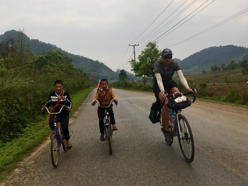Mighty Mekong River Biking Tour