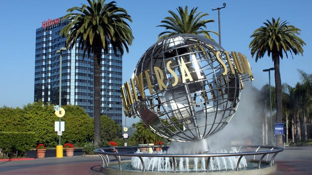 Universal Studios Combo Tour With Hollywood/Los Angeles At Night