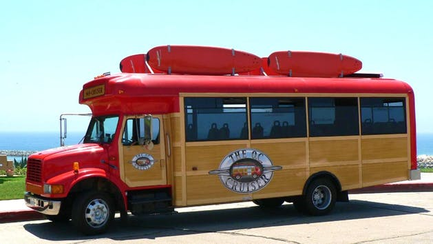 The Oc Beach Bus Tour