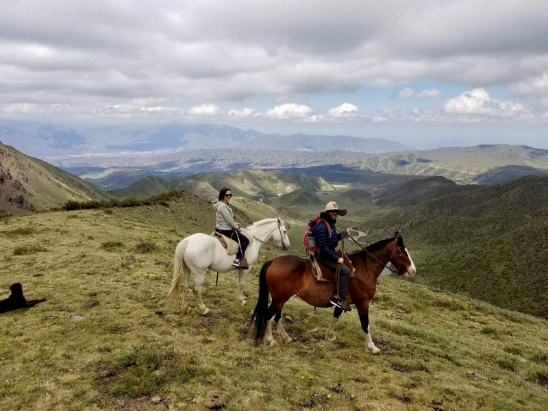 Andes Crossing On Horseback From Argentina To Chile