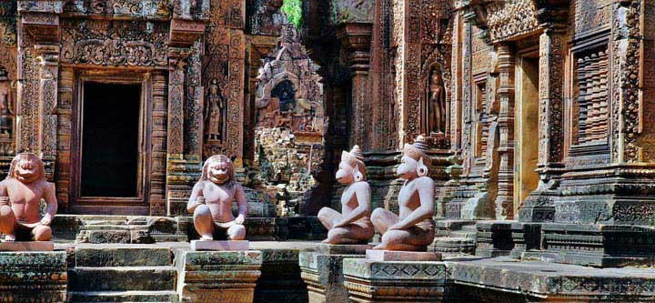 1 Day Tour: Kbal Spean And Banteay Srei Temple