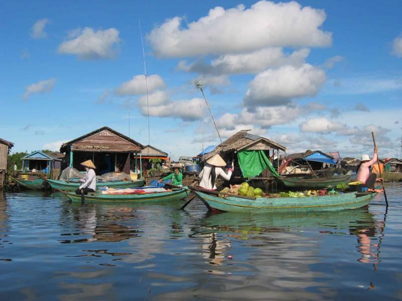 Siem Reap Half Day Tonle Sap Tour