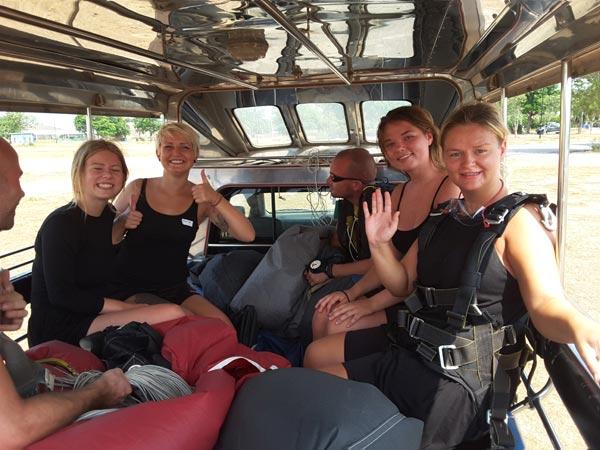 Thai Skydiving In Pattaya Package