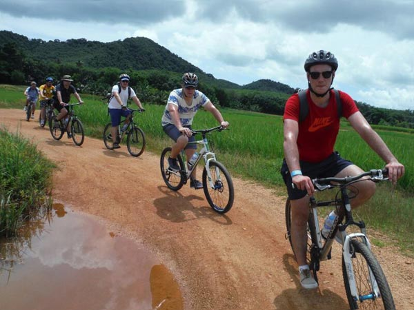 Full Day Krabi Long Distance Cycling Tour Package