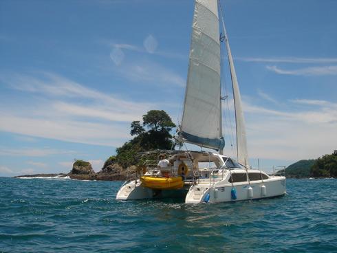 Catamaran Day Or Sunset Caldera Cruise Tour