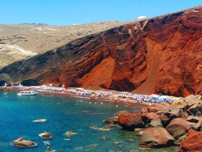 Santorini Island Full Day Sightseeing Bus Tour