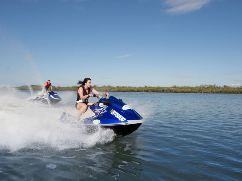 Jet Ski Blast & Sightseeing Tour