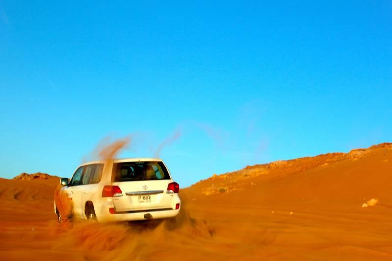 Morning Dune Drive Tour