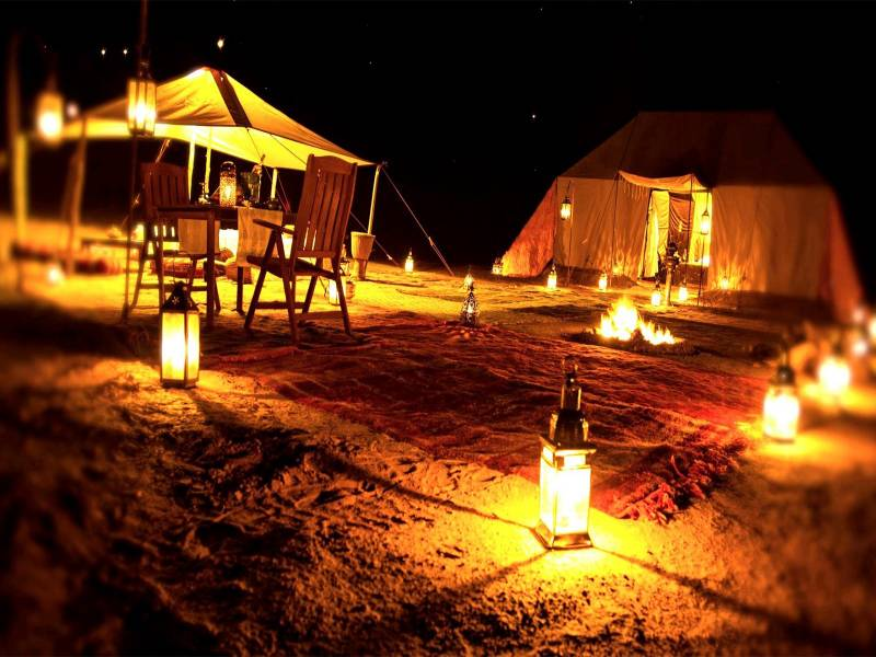 Night Safari In Dubai Tour