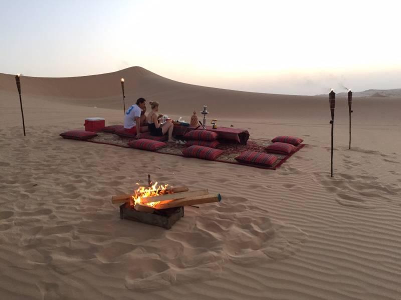 Romantic Dune Dinner Tour