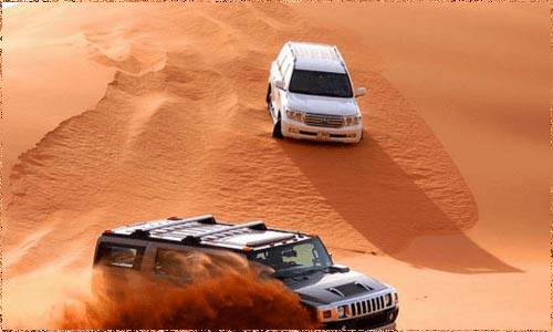 Morning Desert Safari Dubai Tour Packages