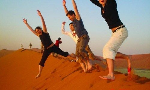 Over Night Desert Safari Dubai Tour Packages