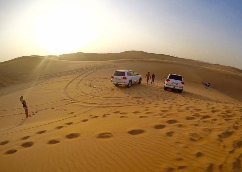 Evening Desert Safari (golden Package) Tour