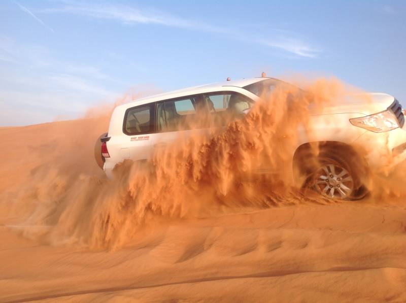 Overnight Desert Safari (advance Package) Tour