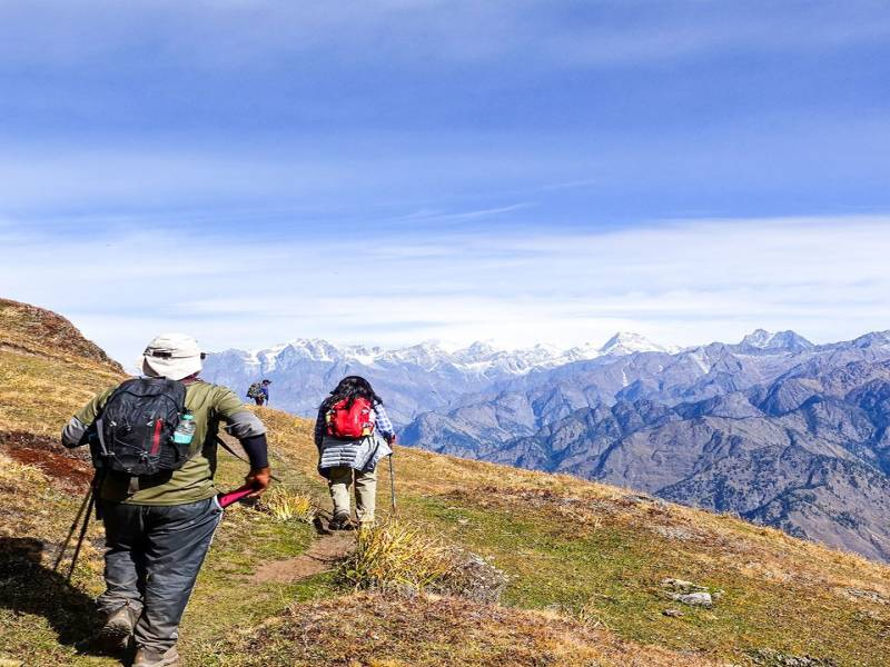 Trekking In Kuari Pass Tour