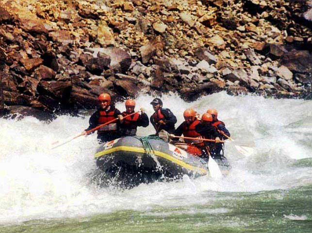 Indus River Rafting Tour