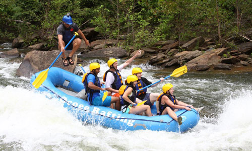 Rafting - Weekends And Public Holidays