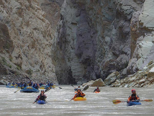 Zanskar River Rafting Tour