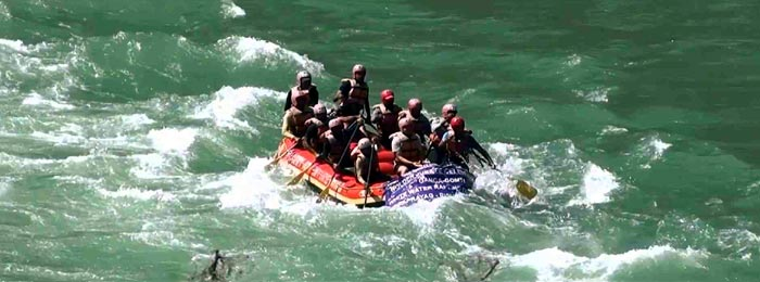 Full Day River Rafting Tour
