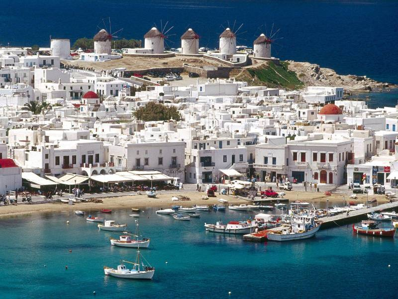 A Week In Greece Tour Package