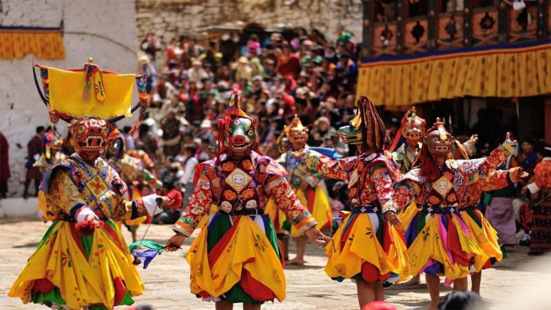 Paro Tsechu Bhutan Group Tour