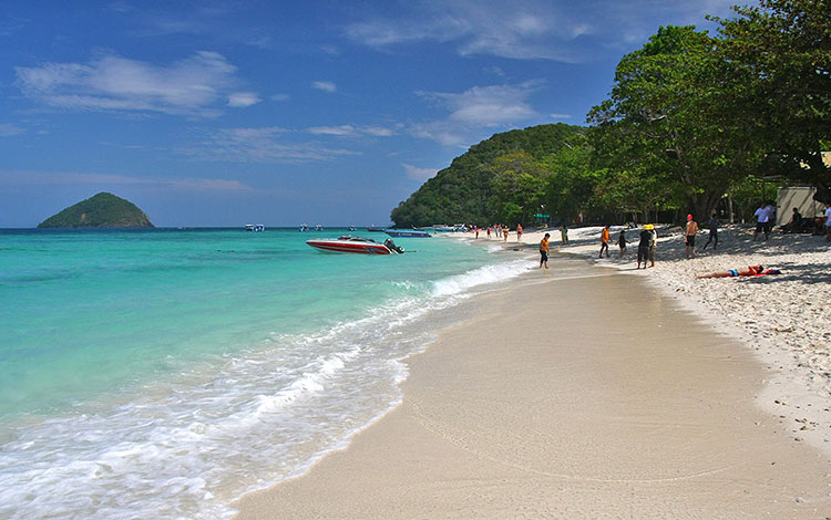 Sea Beach & Coral Island Tour