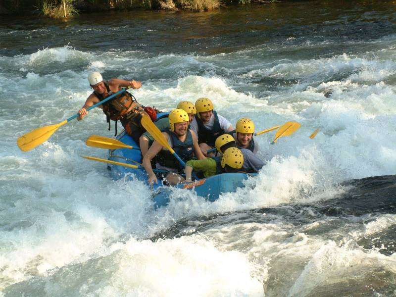 River Rafting In Rishikesh ( Enjoy The Thrills Of River Rafting On River Ganga) Tour