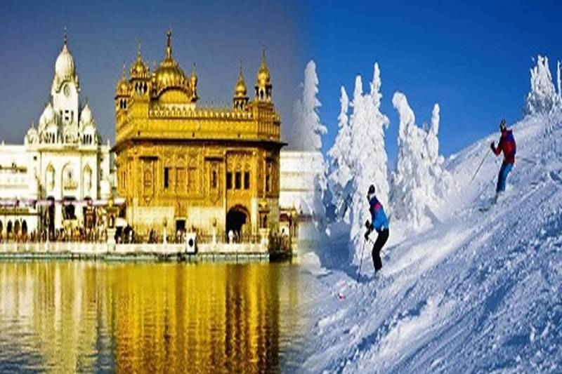 Himanchal With Amritsar Package