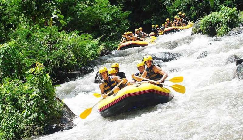 Mount Batur Sunrise Trekking & Telaga Waja Rafting