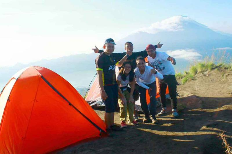 Camp Overnight At Mount Batur Bali Tour
