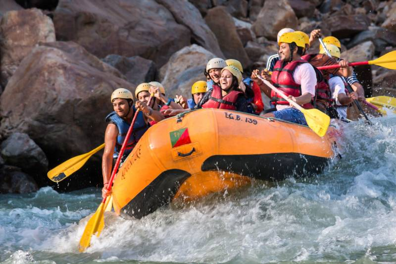 Brahmpuri To Ram Jhula River Rafting 02 Days Tour