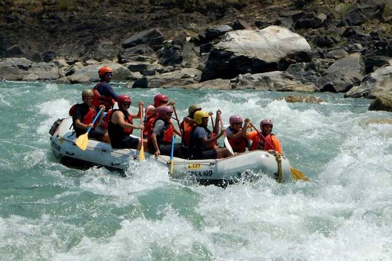 Shivpuri To Nim Beach River Rafting Tour
