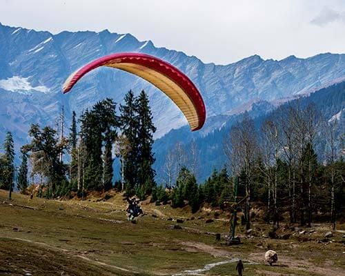 Manali – Himachal Pradesh Paragliding Tour