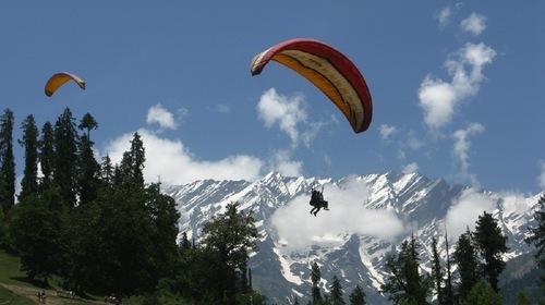 Solang Valley – Himachal Pradesh Paragliding Tour