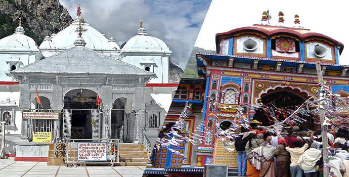 Yamunotri Badrinath Do Dham Yatra 8 Days