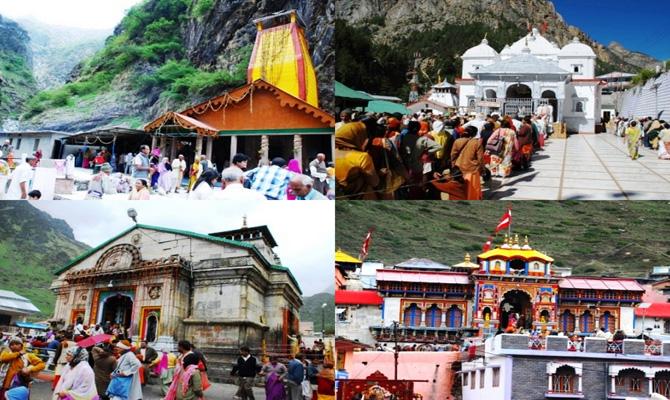 Gmvn Do Dham Badri-kedar Yatra From Delhi 8 Days