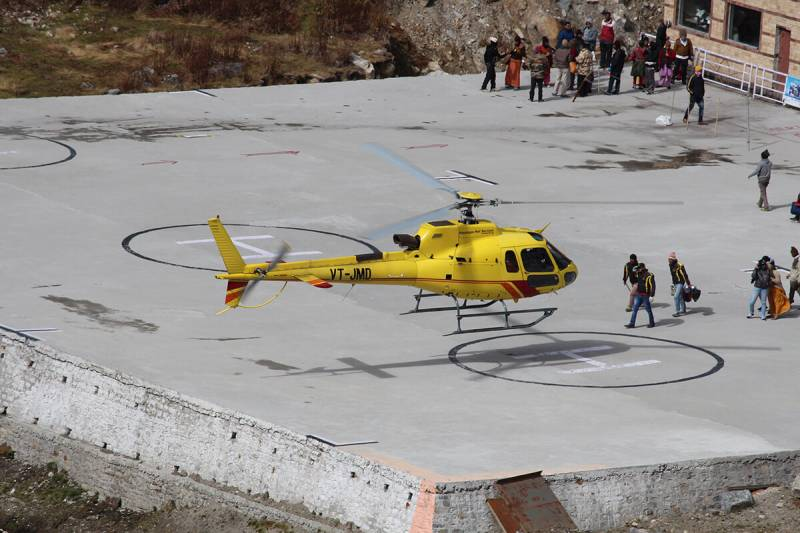 Teen Dham Yatra– Ex – Haridwar With Helicopter To Kedar