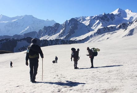 Sar Pass Trek  Tour