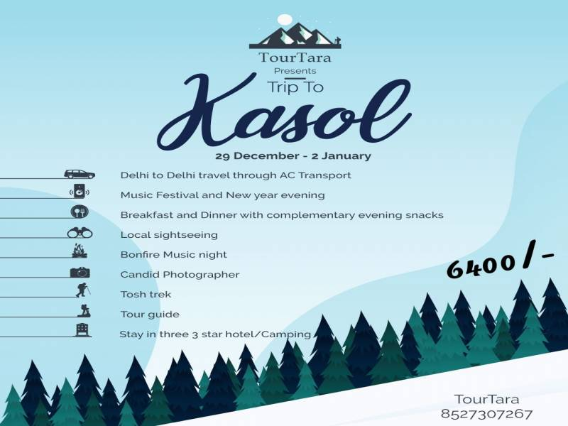 Kasol New Year Tour