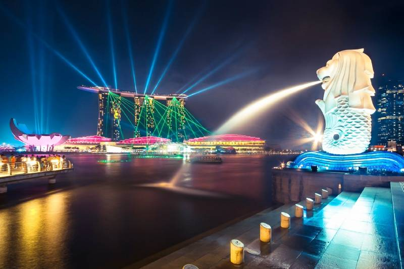 Singapore With Cruise Honeymoon Package