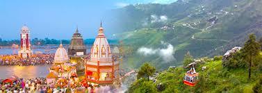 Haridwar,Mussoorie,Rishikesh,Badrinath Tour Package