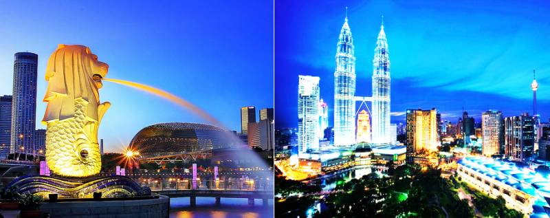 Singapore & Malaysia Tour Package 6n7d