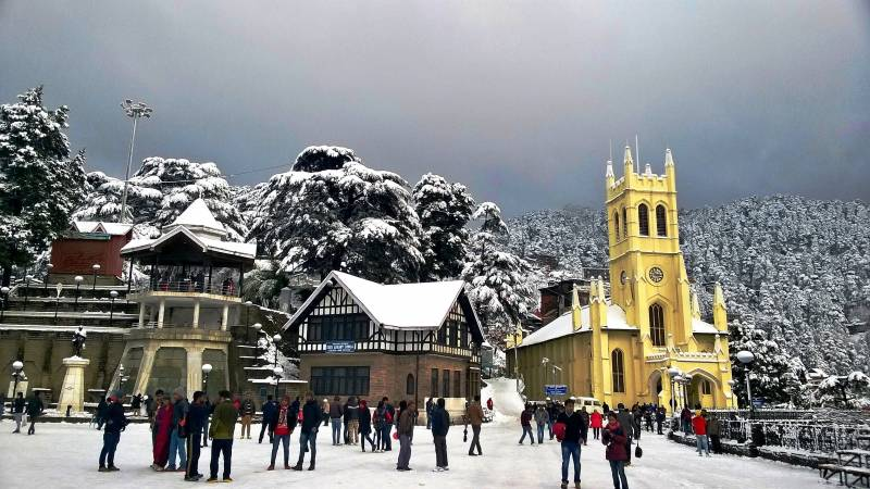 Shimla Manali Chandigarh Cab Tour Package 7 Days