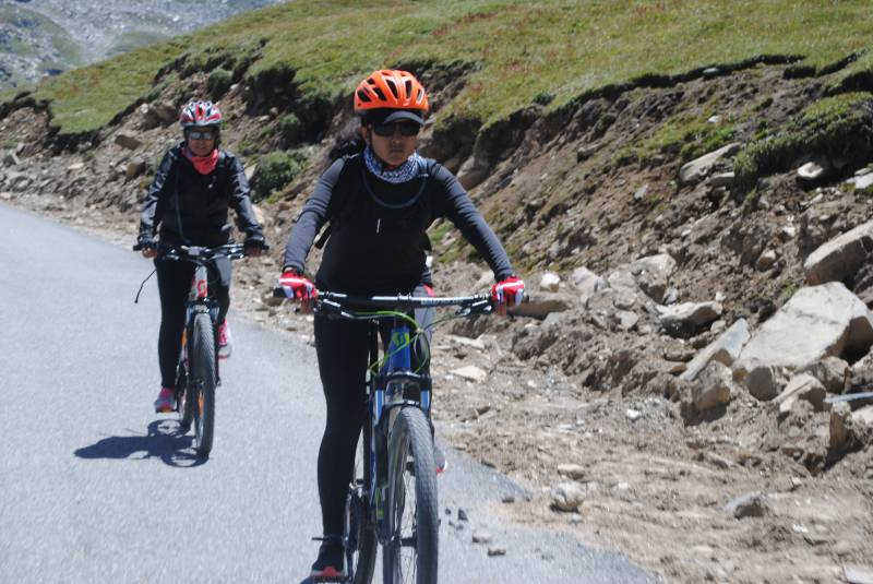 Cycling in Manali Tour