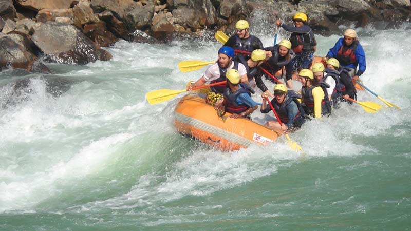 Riverside Overnight Camping And Rafting Tour