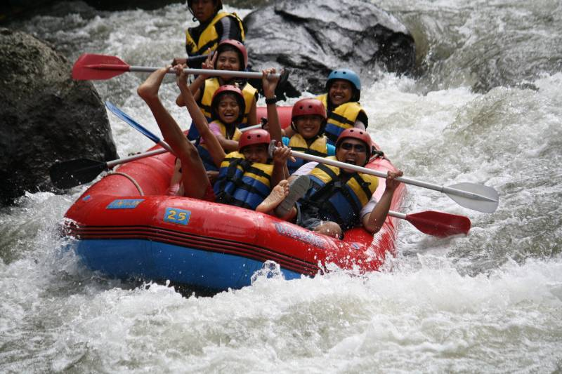 Rafting Nature Lodge Stay Tour