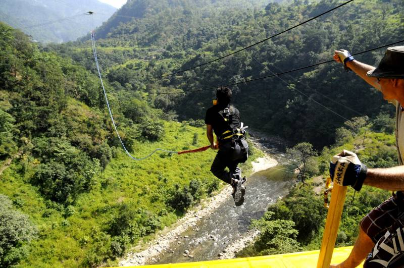 Flying Fox In Rishikesh Tour