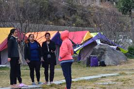 Student Group Package Of Camping Tour