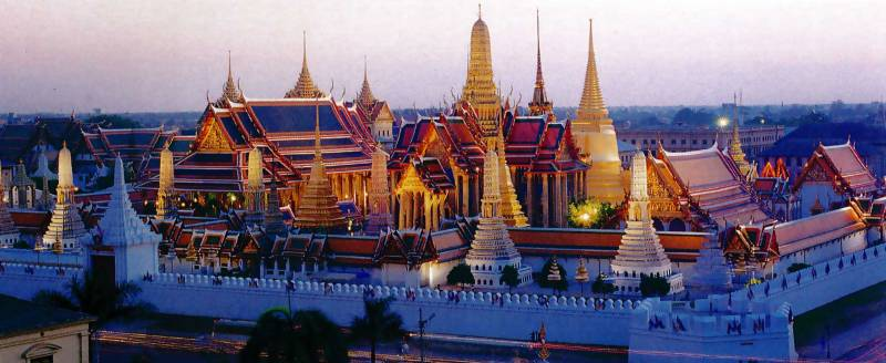 Package Itinerary Of Thailand