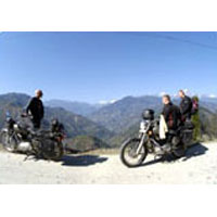 Motorcycle Tour With Golden Triangle